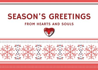Season's Greetings from Hearts and Souls